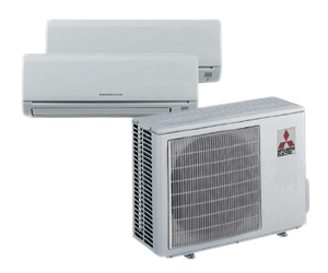 Mitsubishi Electric And Laury Heating Cooling U0026 Plumbing Have An Ideal  Solution. Mitsubishi Electric Ductless Mini Split ...